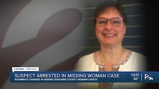 Suspect arrested in missing woman case