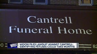 Detroit woman sues Cantrell Funeral Home, claims mishandling of husband's remains