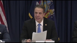New York Governor Actually Says He's a Muslim Woman During News Conference - Video
