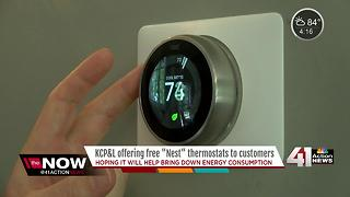 KCP&L to give away energy-saving Nest thermostats for free - Video