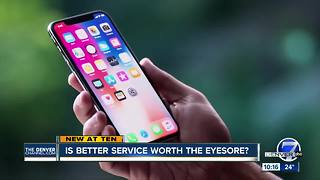 Is better cell service worth the eyesore? - Video