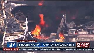 Quinton rig explosion main - Video
