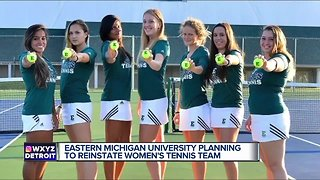 Eastern Michigan reinstates women's tennis, hires coach