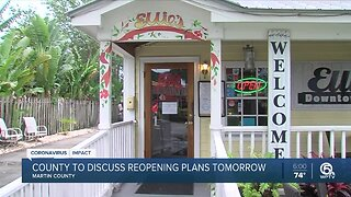 Martin County restaurant owner eager to reopen indoor seating