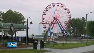 'Big Wheel' makes first run at fundraising event