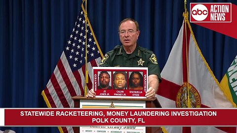 4 Polk residents arrested in money laundering investigation