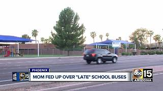 Paradise Valley mother upset over late school buses