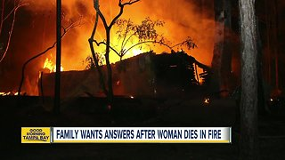 Family claims Lakeland woman could have been saved from fire