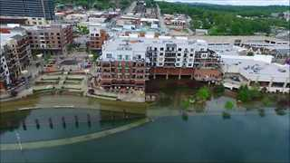 Branson Landing Flooded After Weekend of Heavy Rain - Video
