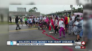 Walkers Raise Money for Heart Disease - Video