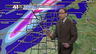 Jeff Penner Tuesday Afternoon Forecast Update 1 10 18 - Video