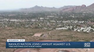 Navajo Nation joins lawsuit against U.S.