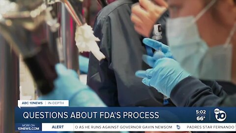 In-Depth: Questions about FDA's approval process