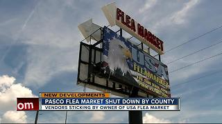 Pasco flea market shut down by county - Video