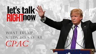 Here's what President Trump needs to say at CPAC this weekend