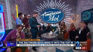 Baltimore is taking over Hollywood on American Idol