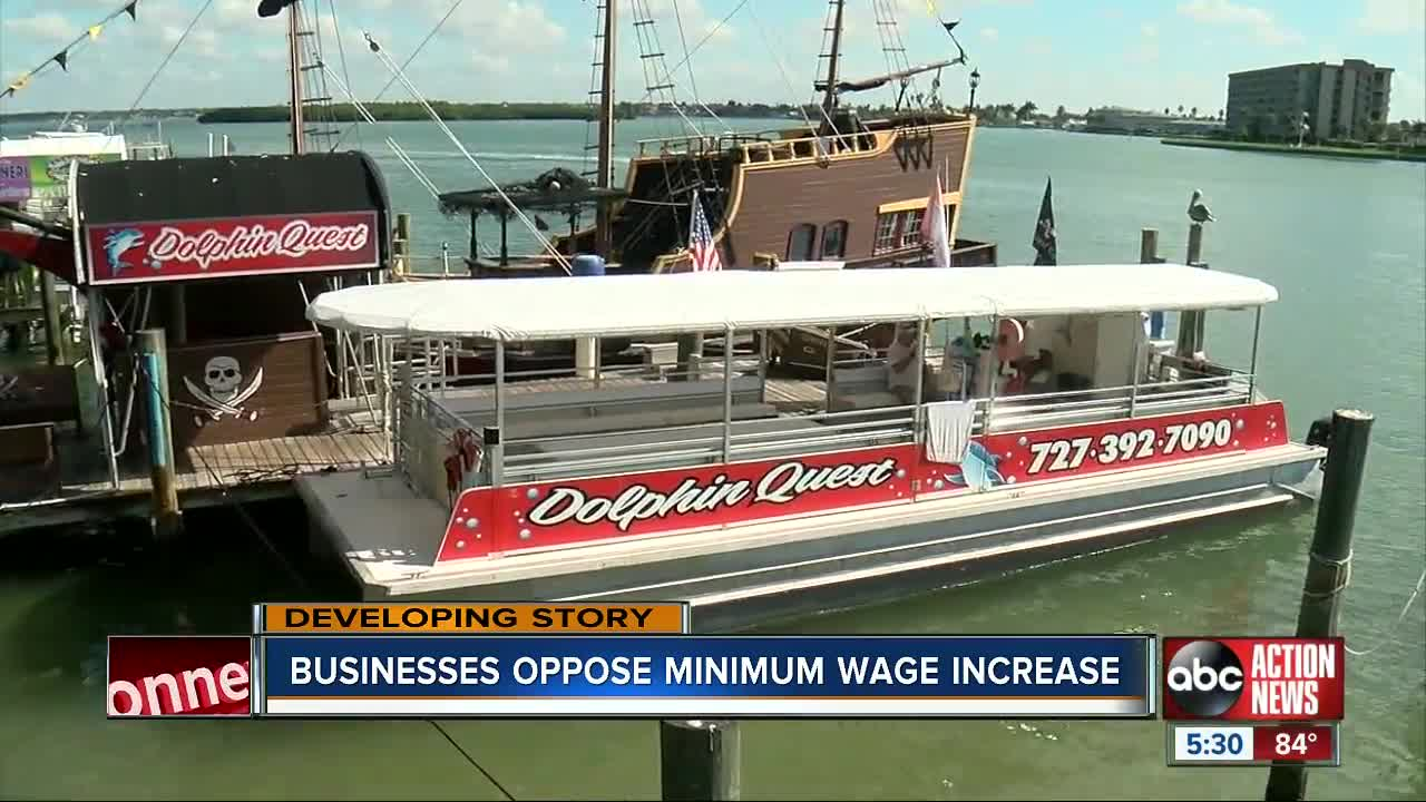 Minimum wage fight involving Pinellas beach business owners