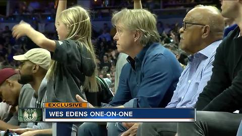 Spotlight on Bucks co-owner Wes Edens ahead of new arena