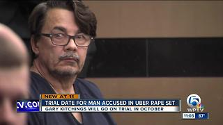 Trial date set for Uber driver charged with rape