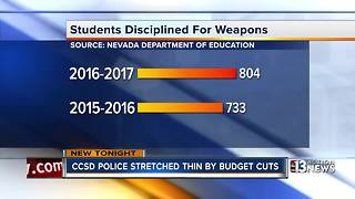 New data shows increase in violence on CCSD campuses - Video