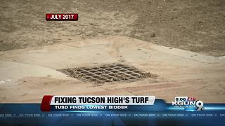TUSD to replace Gridley Stadium's field