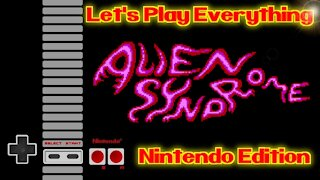 Let's Play Everything: Alien Syndrome (NES)