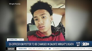 Ex-officer Kim Potter to be charged in Daunte Wright's death