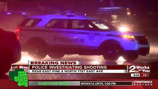 Police investigate shooting in North Tulsa - Video