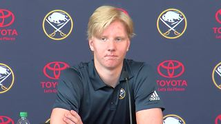 Rasmus Dahlin welcomed to Buffalo - Video