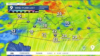 More wind, less heat through the end of the week