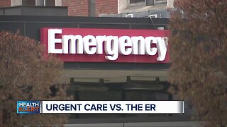 Urgent Care vs ER. How do they compare?