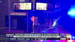 Questions surrounding murders of Baltimore mothers
