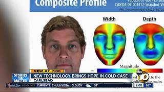 New technology brings hope in cold case - Video