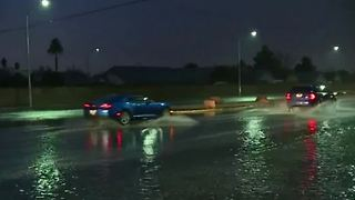 Rain having major effect on Las Vegas valley - Video