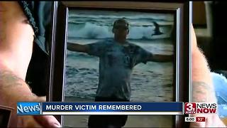 Murder victim remembered - Video