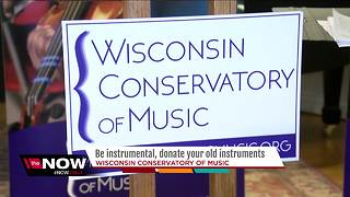 Be instrumental, donate your old instruments - Video