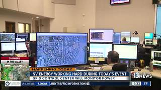 Inside NV Energy as they prepare for the solar eclipse in Las Vegas - Video