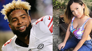 Odell Beckham Jr's New Girlfriend is BAD - Video