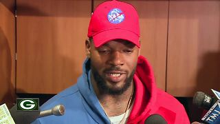 Martellus Bennett emotional after seeing video of brothers detainment - Video