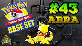 Pokemon Base Set #43 Abra | Card Vault