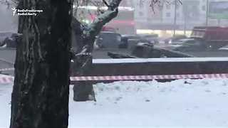 Fatalities Reported After Bus Ploughs Down Moscow Metro Steps - Video