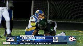 HIGHLIGHTS: Zionsville 40, Greenfield 14 - Video
