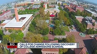 Calls for change following discovery of college admissions scandal