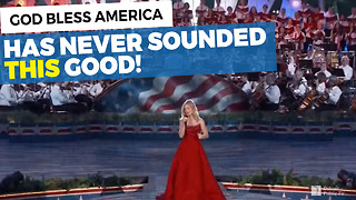 This God Bless America Performance Is Perfect - Video