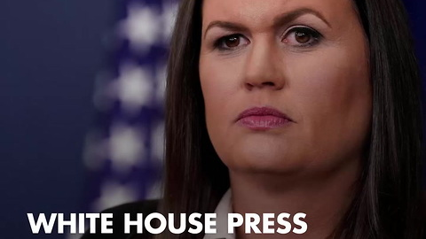 Reporters Pitch Hissy Fit After Huckabee Sanders Hits Them With Russia-Clinton Truth