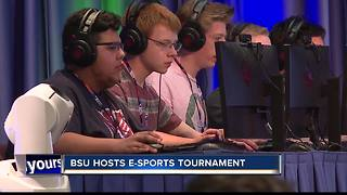 E-Sports tournament at Boise State - Video