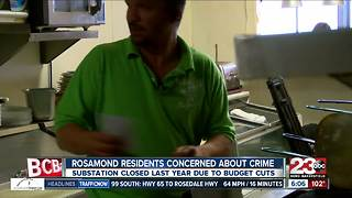 Rosamond residents concerned over crime - Video