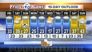 7 First Alert Forecast for 7 EWN at Noon 1208 - Video