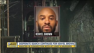 Desperate search continues for Kenyel Brown