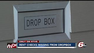 Woman says she was nearly evicted after someone stole her rent check from apartment's dropbox - Video